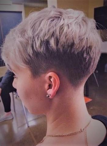 cute short blonde pixie hairstyles  short hairstyles