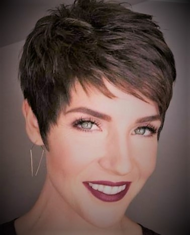 Short Sassy Pixie Hairstyle Pixie Hairstyles Short Hairstyles Short hairstyles for women