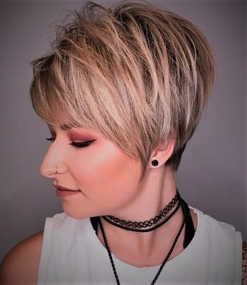 Cute Short Blonde Pixie Hairstyles Pixie Hairstyles Short Hairstyles Short hairstyles for women