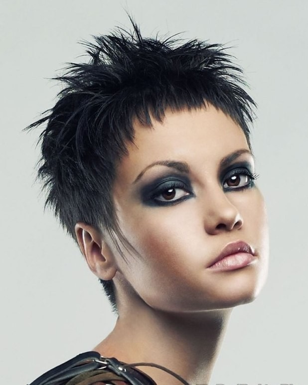 Very Short Spikey Hairstyle Short Hairstyles Short hairstyles for black women Short hairstyles for women Very short hairstyles